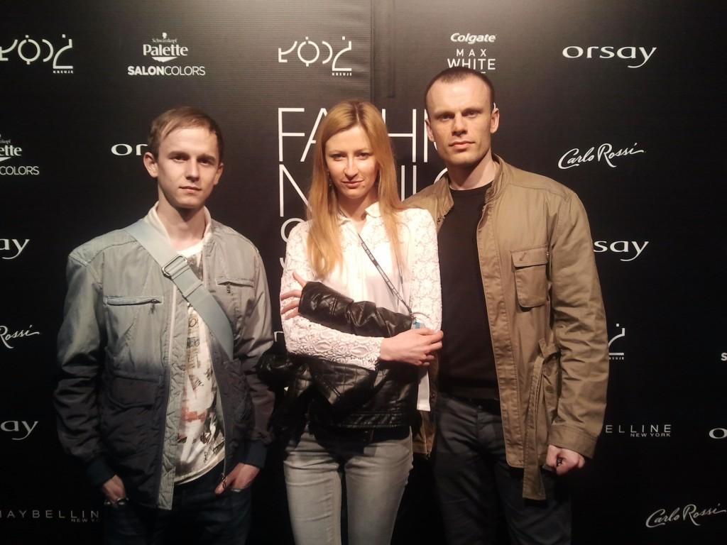 Lingerose crew at Fashion Week 2013