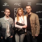 Lingerose crew at Fashion Week 2013
