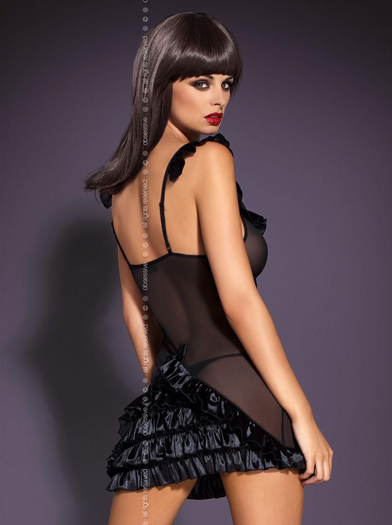 obsessive_Electra_chemise_black_back