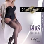 166 Plus Size calze Cher