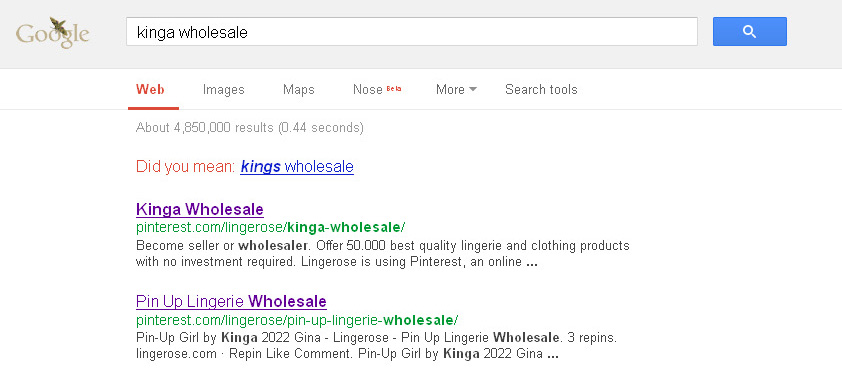 23. kinga wholesale in Google